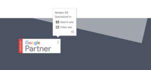 dynamisk GPP badge Google